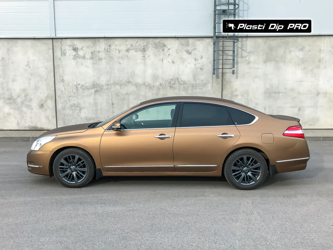 Nissan Teana Plasti Dip color Burnt Brown-1