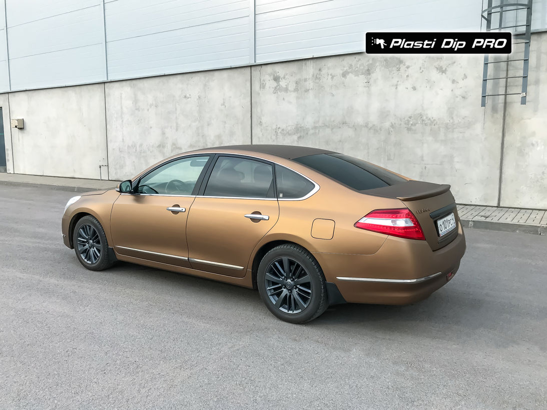 Nissan Teana Plasti Dip color Burnt Brown-2