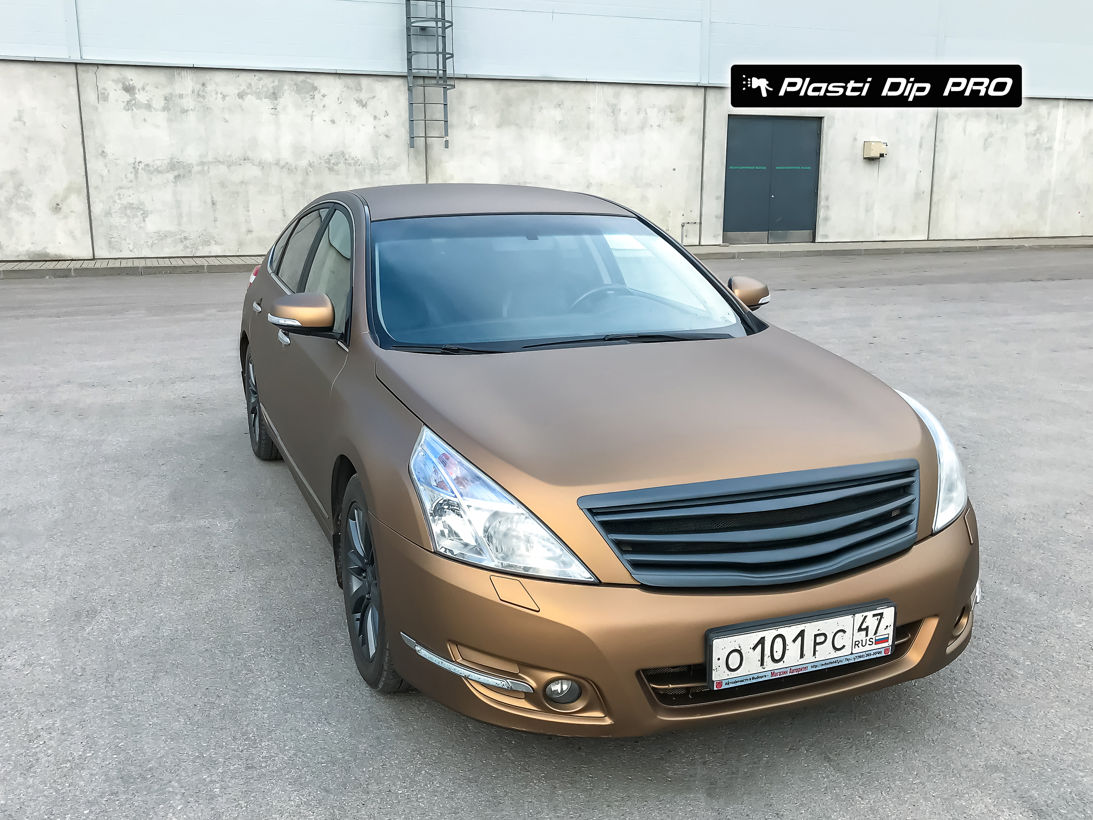 Nissan Teana Plasti Dip color Burnt Brown-3
