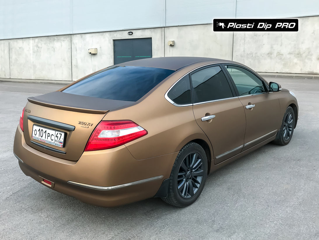 Nissan Teana Plasti Dip color Burnt Brown-4
