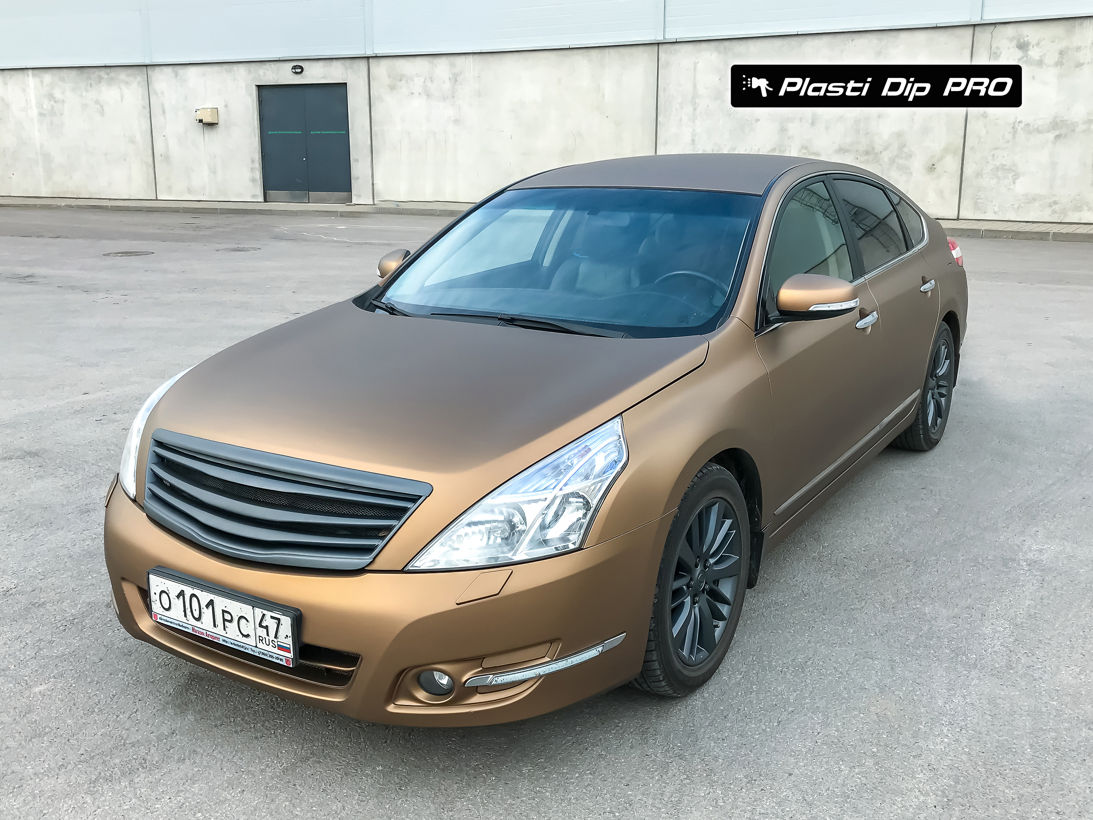 Nissan Teana Plasti Dip color Burnt Brown